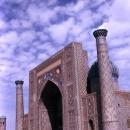 Sher-Dor Madrasah In Registan Square @ Uzbekistan