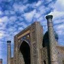 Sher-Dor Madrasah In Registan Square