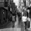 Young Woman Carrying Laundries @ Tokyo