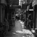 Shops Were Closed In The Alleyway @ Tokyo