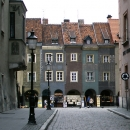Gray Cityscape In Poznan