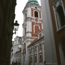 The Tower Of The Fara Church In Poznań @ Poland