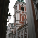 Tower Of The Fara Church In Pozna?