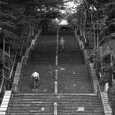 Stairway In Ikegami Honmon-ji @ Tokyo