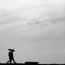 Silhouette Of A Couple @ Sri lanka