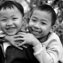 Two Smiles Of Little Boys @ Laos