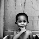 Boy In The Cardboard Box @ Philippines