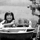 Cute Smile Of Washing Girl