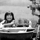 Cute Smile Of Washing Girl @ Philippines