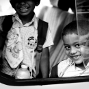 Two Boys On The Car @ Sri lanka