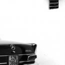 Mercedes Benz Parked In The Alleyway @ Vietnam