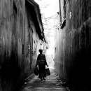 Older Woman In The Alleyway @ Indonesia