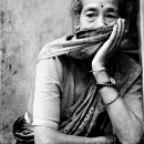 Woman In The Gloomy Mood @ Nepal