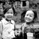 Girls Laugh Endearingly @ Nepal