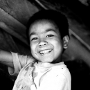 Smile Of A Boy Playing In The Lane @ Nepal
