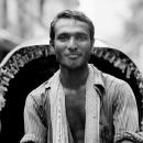 Man Pedaling A Rickshaw @ Bangladesh