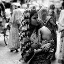 Mother Holding Her Baby @ Bangladesh