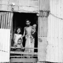 Family At The Window @ Bangladesh