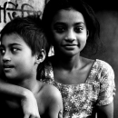 Girl And Boy Sitting Closer Together @ Bangladesh