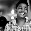 Man Laughed Widely @ Bangladesh