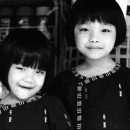 Sisters With Bobbed Hair @ Myanmar