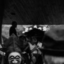 河回村で仮面と御対面