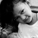 Portrait Of A Kittenish Girl