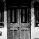 Old Door In Chinatown