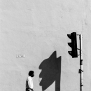 Shadow Of The Traffic Signal