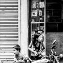 バイクと姉弟