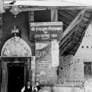 ヒンドゥー教寺院の入口