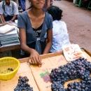 葡萄とハニカミ