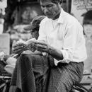 Reading A Book On Saiq-ka