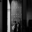聖ドミンゴ教会の出口