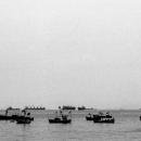 漁船が係留されていた