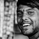 Laughing Man With A Bindi