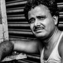 Languid Man At A Chai Stand