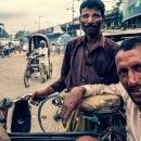 Two Rickshaw Wallahs Looked At Me