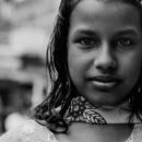 Girl Wearing A Sari
