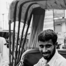Smile Of A Bearded Rickshaw Wallah