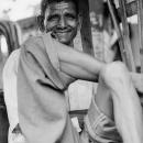 Gentle Smile Of A Rickshaw Wallah