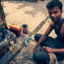 Man Selling Oils