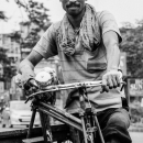 Man And Tricycle