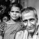女の子とおじいさん
