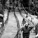 スワヤンブナートの階段