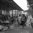 Women Walking In The Market
