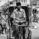 Cycle Rickshaw And Bicycle