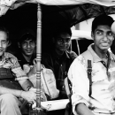 Men On An Auto Rickshaw