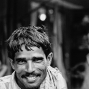 Rickshaw Wallah With A Mustache Was Bashful