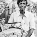 Man Carrying Furniture